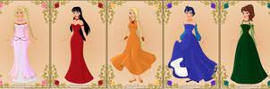 Sailor Moon Princesses 2 by TFfan234