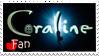 Coraline Fan Stamp by HayaMika