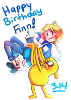 happy birthday finn! by HayaMika