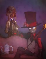Villainous (Steampunk Inspired) by HayaMika