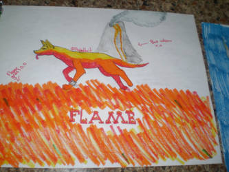Contest Entry- Flame by EbonyDunkelion