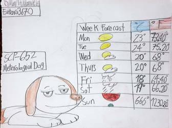 SCP-652 Meteorological Dog by Esitaro3670