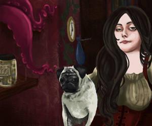 Self Portrait by Jessie-Belli