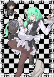 Multitasking maid by Xerophase