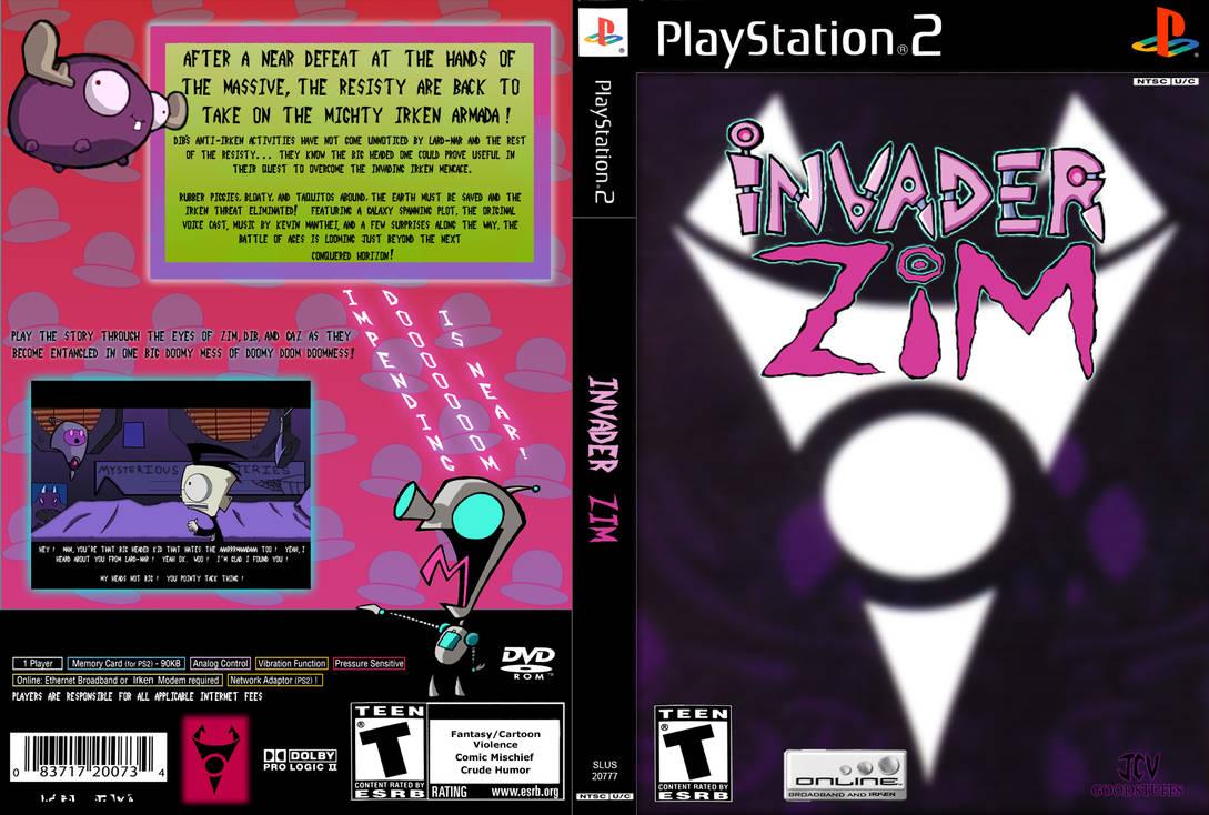 invader zim the game by sokolov on deviantart