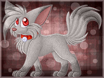Shadow Kitsune Kirby by EclipseThe1st