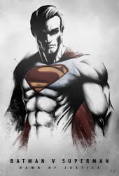 DAWN OF JUSTICE - SUPERMAN by Niyoarts