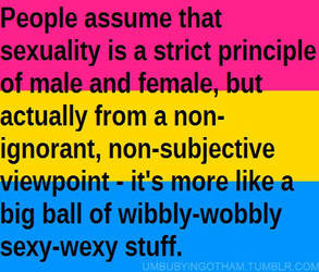 Pansexual by umbuby