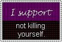 Not Homophobic, Anti-Suicide by ZOMBIExBite