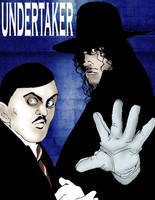 The Undertaker and Paul Bearer by LordMalad