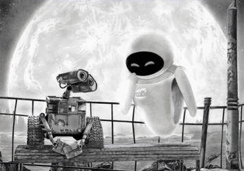 Wall-E and Eve by YALIM1907