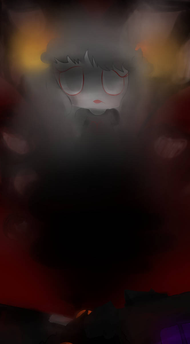 What a pretty ghost by Noulin123