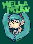 Hella Miku by Noulin123