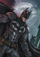 Batman_Arkham Knight by denn18art