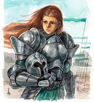 Lady of War by denn18art