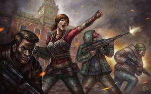 Freedom Fighters by denn18art