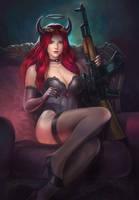 Bad Lady 2 by denn18art