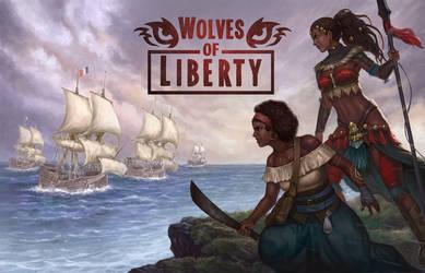 Wolves of Liberty by denn18art
