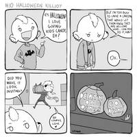 Perfect Dystopia: #10 Halloween Killjoy by vexnir