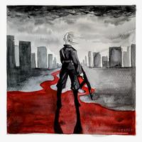 The Sky Bleeds by vexnir