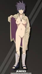 Anko Mitarashi (Naruto) by OryonOnilocram