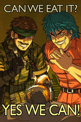 MGS+Toriko - Can we eat it by FerioWind