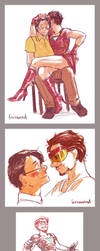 AVENGERS - sexy iron man by FerioWind