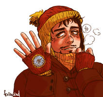 AVENGERS - winter by FerioWind