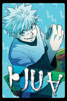Killua Zoldyck by FerioWind