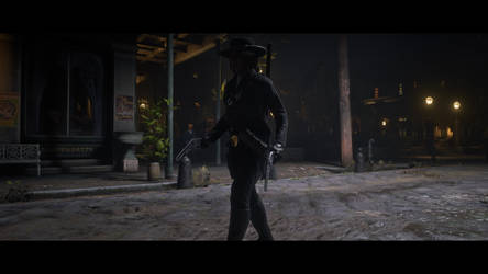 I'm my own shadow - Red Dead Redemption 2 by Major-Guardian