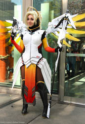 Mercy: Hallway pic by OshleyCosplay