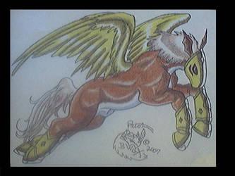 Pegasusmon in hope by jacmaktsi