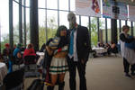 Kiso and Mr. Foster Cosplay by AndrothScarlet