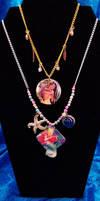 Disney Necklaces by nuriko-chan
