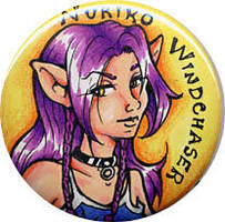 Nuriko Button Badge by nuriko-chan