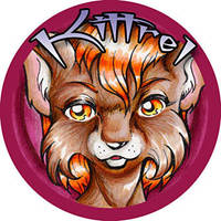 Kittrel Button Badge by nuriko-chan