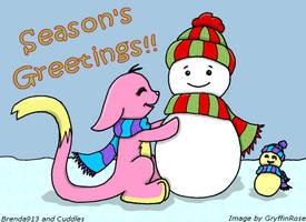 Brenda's Snowman by RoseSagae