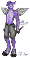 New Alan -Anthro- by RoseSagae