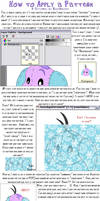 How to Apply a Pattern Tut. by RoseSagae