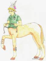 Foaly the Centaur by RoseSagae