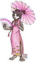 Lian the Panda by RoseSagae