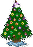 Rose's Christmas Tree 2006 by RoseSagae