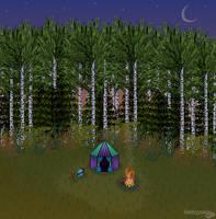 Vyala's Camp by RoseSagae