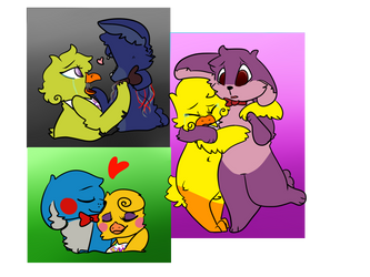 Ships {FNAF} by WolfehTheArtist