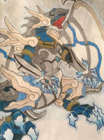 Chaos Karma Ritual Dragon by JaneValentine007