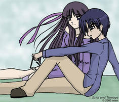 old - eriol and tomoyo by enerirenie