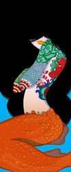 Inktober Mermaid Banner by Ztoical