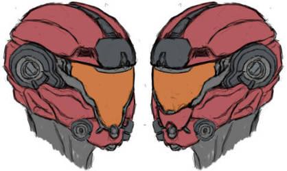 MJOLNIR helmet 2 by CrashLegacy