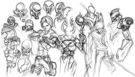 Sketchs by CrashLegacy