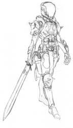 Destiny: Lady Jordan by CrashLegacy
